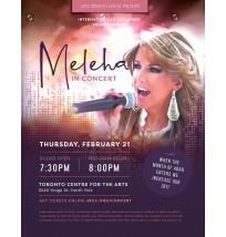 Women's Concert Flyer - Meleha