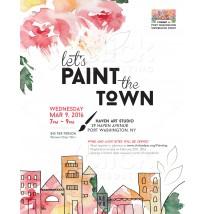 Paint Class Flyer