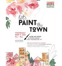 Paint Night Flyer