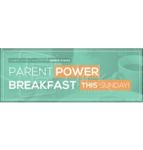 Parent Breakfast Promo