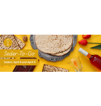 Seder to Go Web Banner
