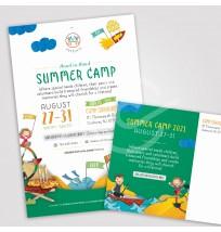 Camp Gan Israel Mailer 4 - 2 Sides