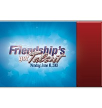 Friendship's got Talent Dinner Invitation Set