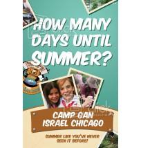 Camp Gan Israel Mailer 2 - 2 Sides