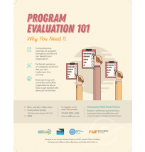 Program Evaluation Flyer