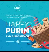 Purim Social Media Post