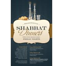 Shabbat Dinners Flyer