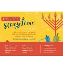 Children's Storytime Flyer