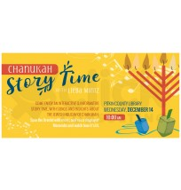 Chanukah Storytime Banner