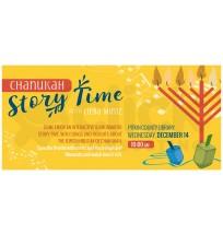 Chanukah Storytime Web Banner