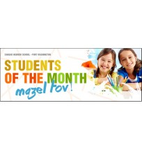 Student of the Month Web Banner