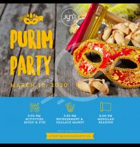 Purim Teen Party Social Post