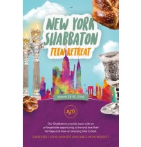 NY Shabbaton Teen Retreat Email