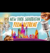 NY Shabbaton Teen Retreat Facebook Cover Photo