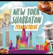 NY Shabbaton Teen Retreat Social Media Post
