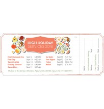 High Holiday Tickets