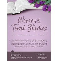 Women's Torah Studies Flyer