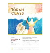 Torah Class Flyer 2