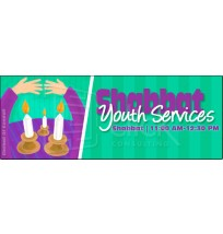 Shabbat Youth Services Web Banner
