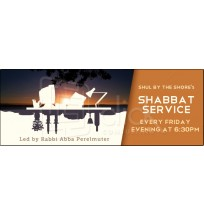Shabbat Service Web Banner
