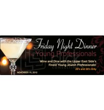 Friday Night for Young Professionals Web Banner