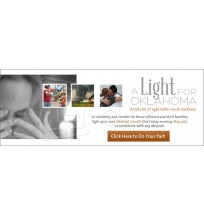 A Light for Oklahoma Email/Web Banner