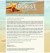 Minisite: Tourist/ Visitor Guide