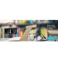 JLI 'Menu' Web Banner